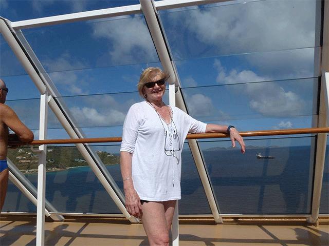Karen Norris NCL Escape cruise