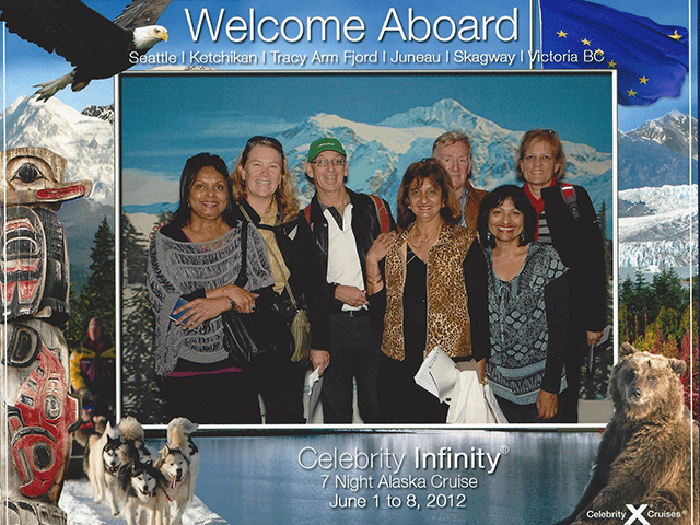 Deb McFarlane Celebrity Infinity Alaska 2012