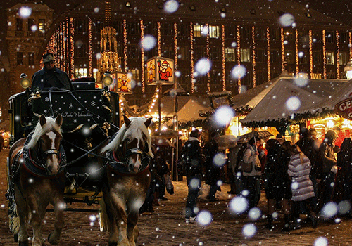 Christmas markets Carriage